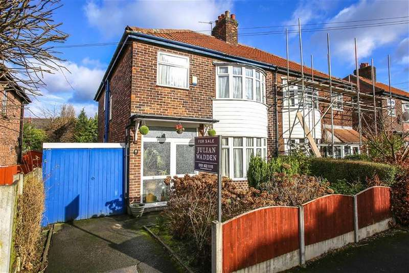 4 Bedrooms Semi Detached House for sale in Gladstone Grove, Heaton Moor