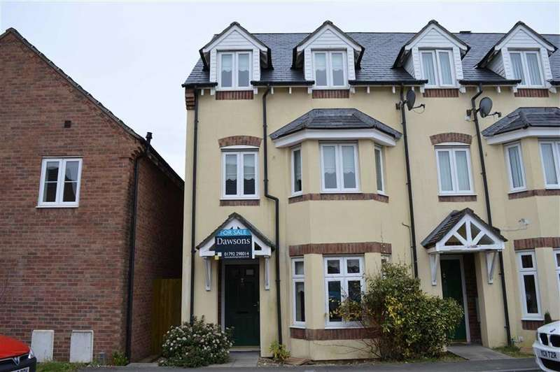 3 Bedrooms Town House for sale in Heol Y Gwartheg, Gowerton, Swansea