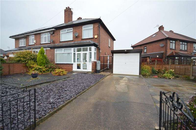 3 Bedrooms Semi Detached House for sale in Lingwell Crescent, Leeds, West Yorkshire
