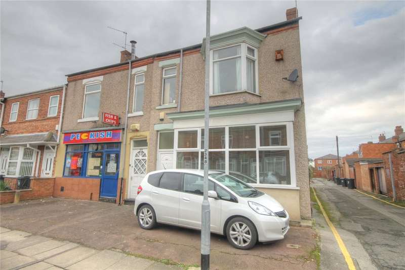 4 Bedrooms End Of Terrace House for sale in Greenbank Road, Darlington, Co Durham, DL3