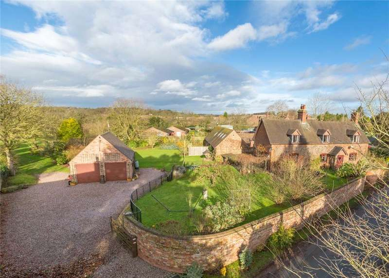 4 Bedrooms Detached House for sale in Church Lane, Sheriffhales, Shifnal, Shropshire, TF11