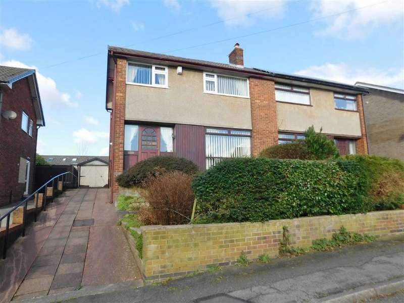 3 Bedrooms Semi Detached House for sale in Alderley Drive, Bredbury, Stockport