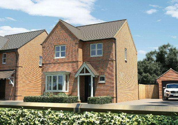 4 Bedrooms Detached House for sale in Banbury Rise, Banbury