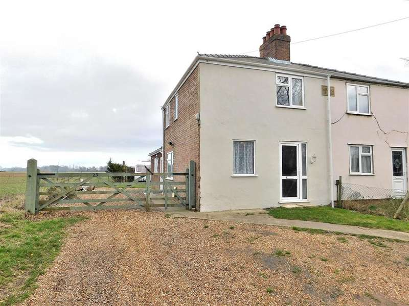 3 Bedrooms Semi Detached House for sale in Hay Green Road North, Terrington St. Clement, King's Lynn