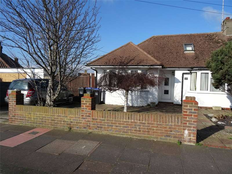 2 Bedrooms Semi Detached Bungalow for sale in Sackville Road, Broadwater, Worthing, BN14