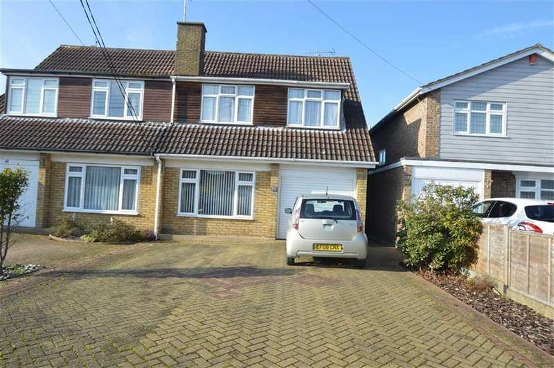 5 Bedrooms Semi Detached House for sale in Golden Cross Road, Ashingdon, Essex