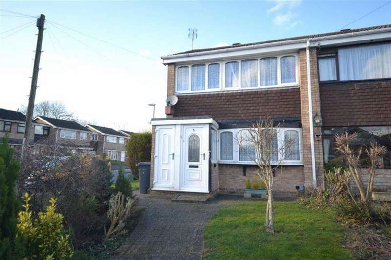 3 Bedrooms Semi Detached House for sale in Beverley Avenue, Stockingford, Nuneaton