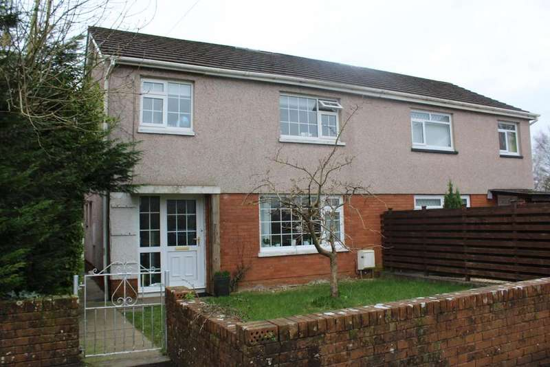3 Bedrooms Semi Detached House for sale in Riverway, Ammanford