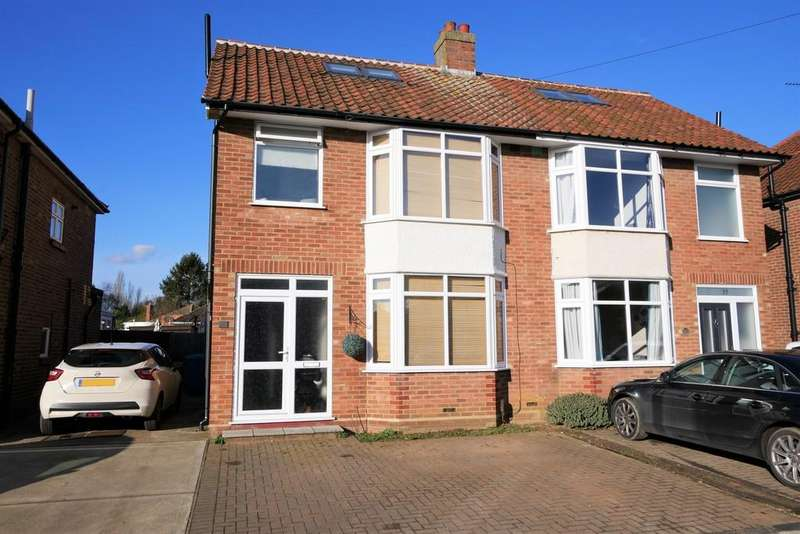 4 Bedrooms Semi Detached House for sale in Kingsgate Drive, Ipswich