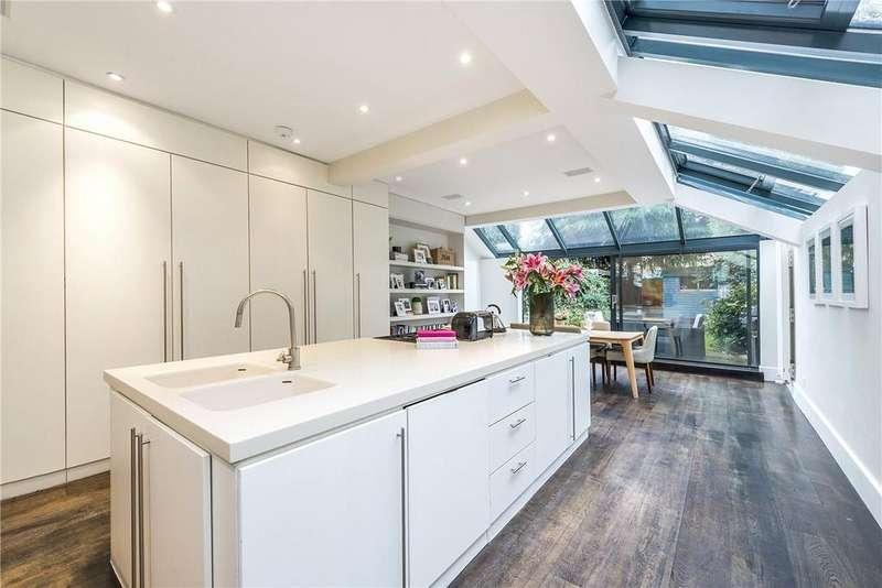 5 Bedrooms Terraced House for sale in Inglethorpe Street, London, SW6