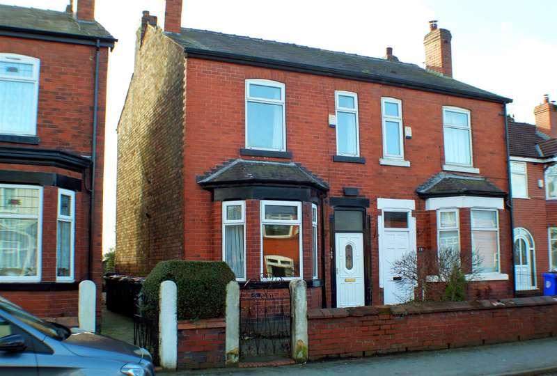 3 Bedrooms Semi Detached House for sale in Peel Green Road, Eccles, Manchester