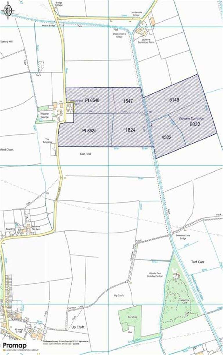 Land Commercial for sale in Meaux Road, Wawne, Near Hull, East Yorkshire