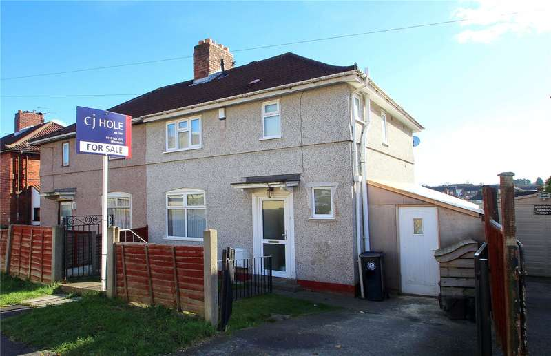 3 Bedrooms Semi Detached House for sale in Springleaze Knowle Park Bristol BS4