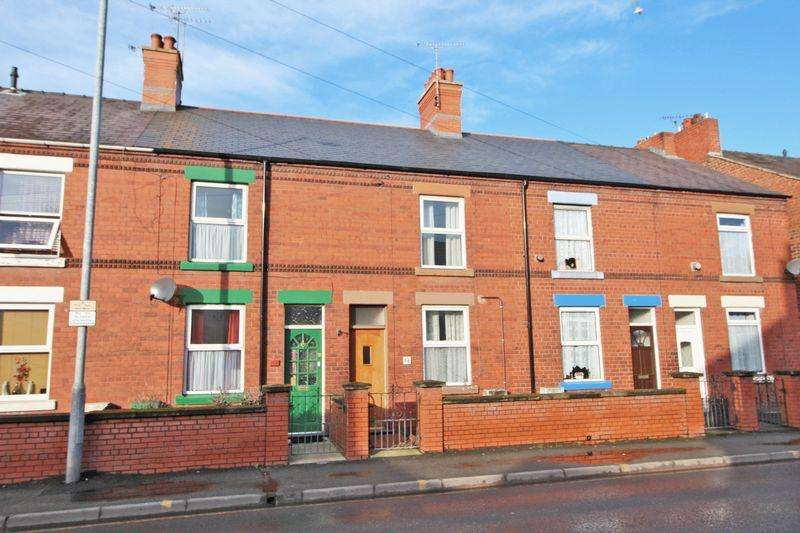 2 Bedrooms Terraced House for sale in Bradley Road, Wrexham