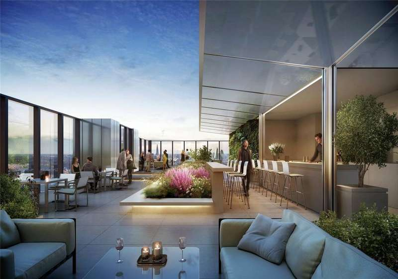 3 Bedrooms Flat for sale in South Quay Plaza, Marsh Wall, London, E14