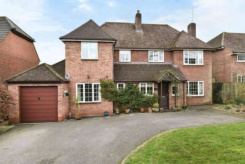 4 Bedrooms Detached House for sale in Winchester, Hampshire