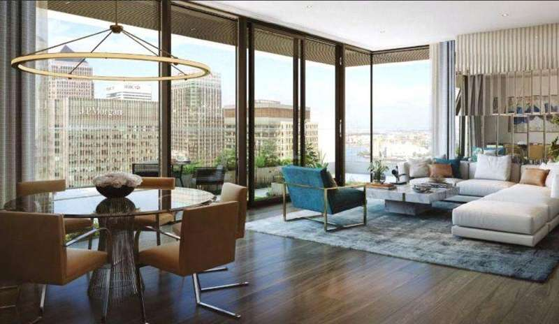 2 Bedrooms Flat for sale in Wardian London, Canary Wharf, London, E14