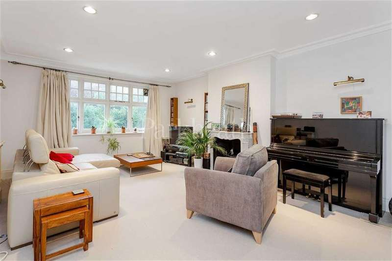 3 Bedrooms Flat for sale in Goldhurst Terrace, South Hampstead, London