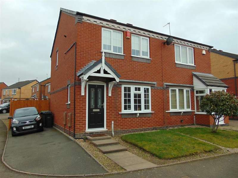 2 Bedrooms Semi Detached House for sale in Tanacetum Drive, Walsall