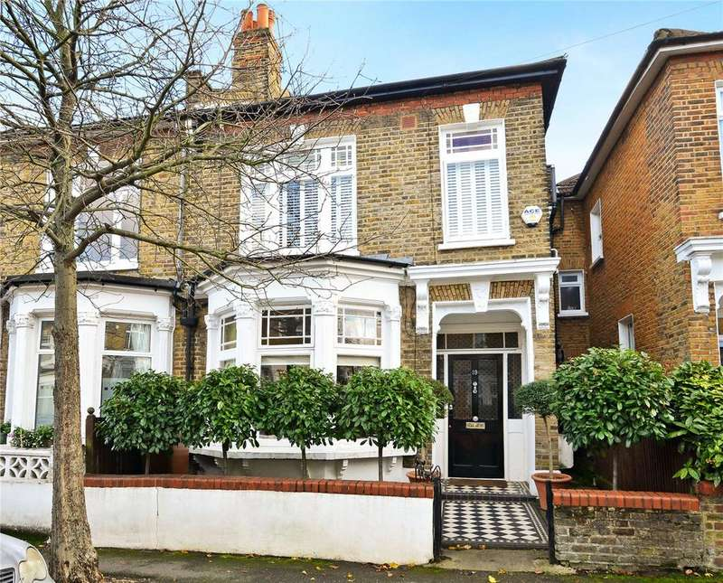 5 Bedrooms Terraced House for sale in Trossachs Road, East Dulwich, London, SE22