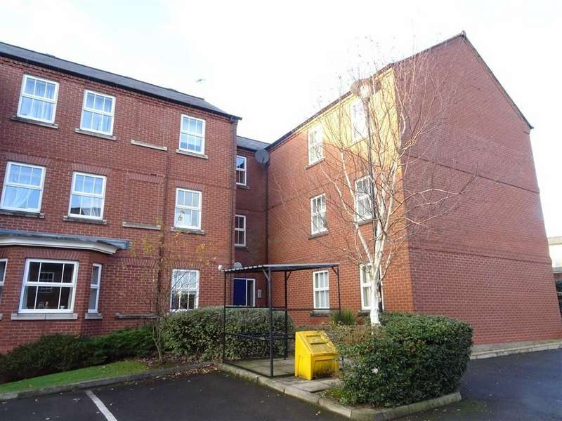 2 Bedrooms Flat for sale in Tribune House, Hinckley
