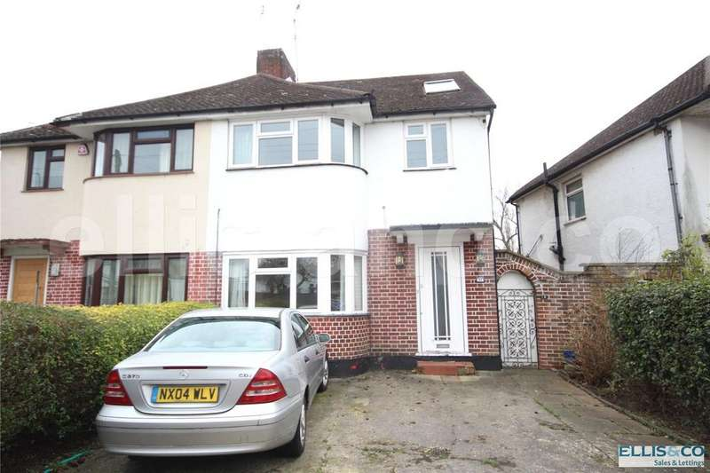 4 Bedrooms Semi Detached House for sale in Oakhampton Road, Mill Hill, London, NW7
