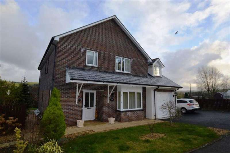 4 Bedrooms Detached House for sale in 1, Clos Cadno, Llanilar, Aberystwyth, SY23