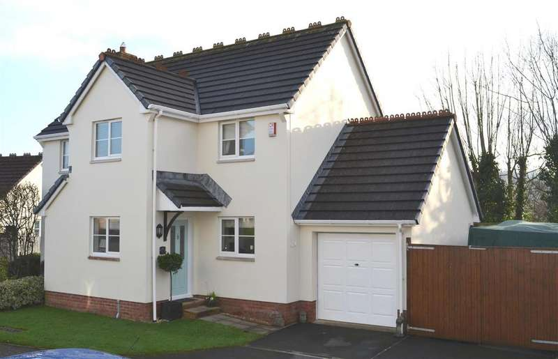4 Bedrooms Detached House for sale in Barleycorn Fields, Landkey, Barnstaple