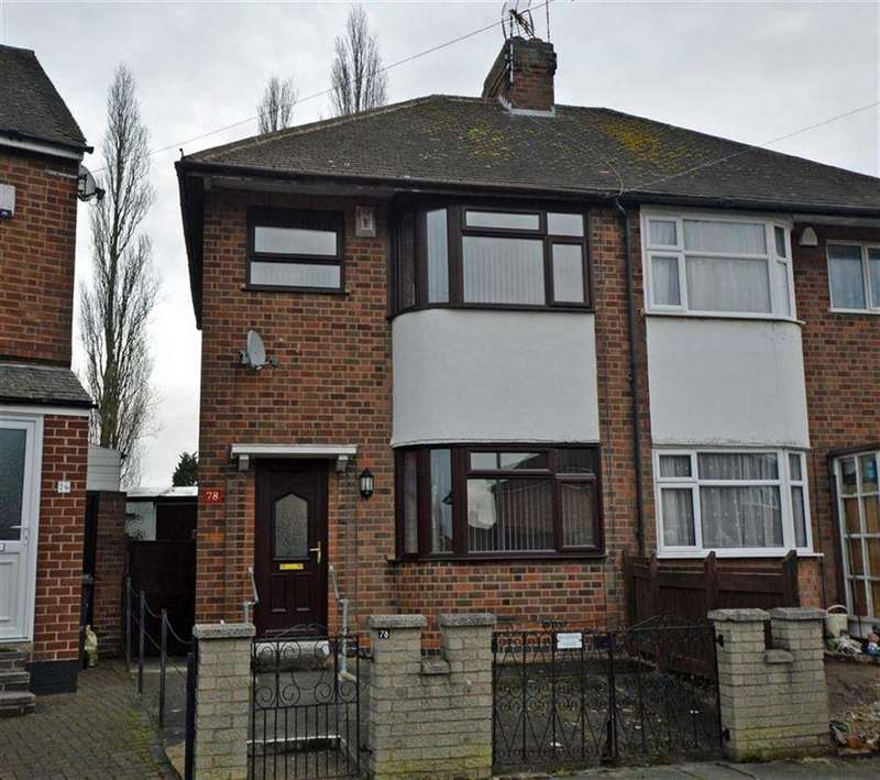 3 Bedrooms Semi Detached House for sale in Roydene Crescent, Off Anstey Lane