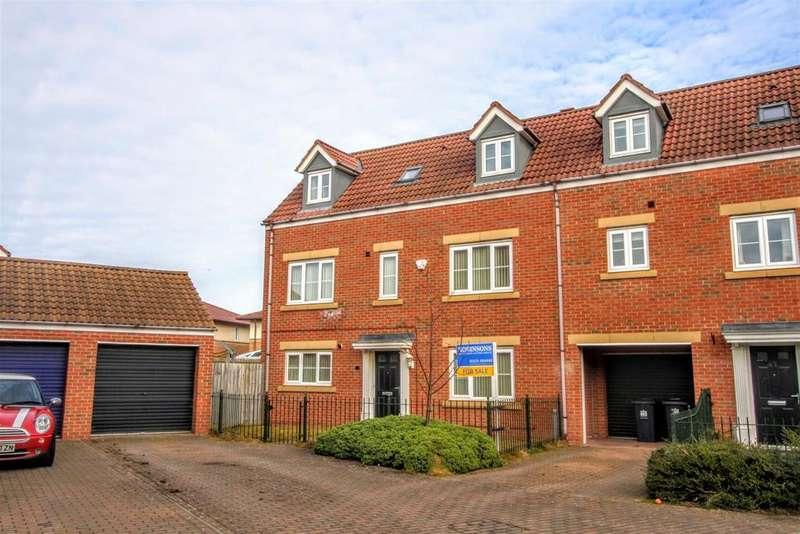 4 Bedrooms Town House for sale in Wildair Close, Darlington