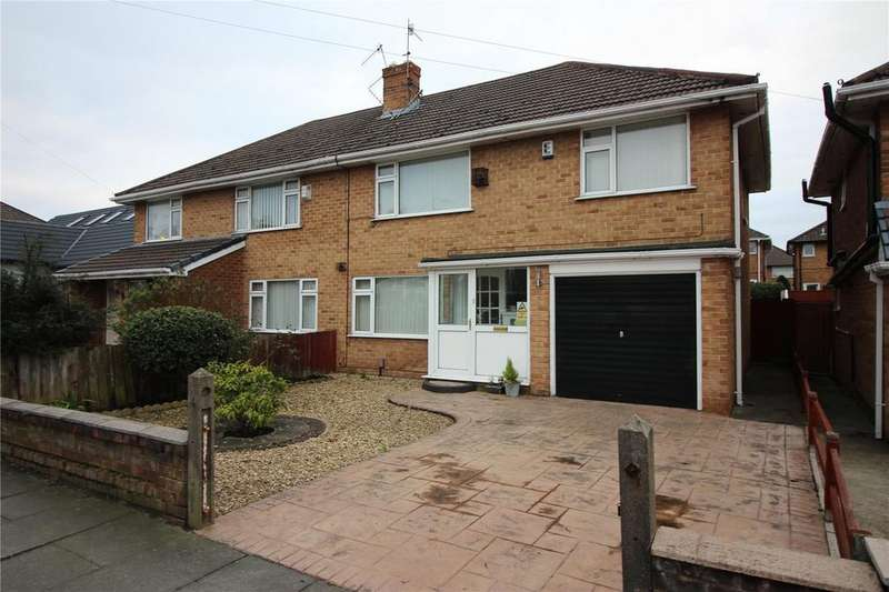 3 Bedrooms Semi Detached House for sale in Waterpark Road, Prenton, Merseyside, CH43