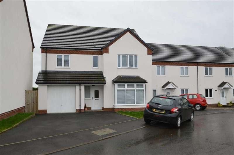 4 Bedrooms Detached House for sale in Whitebrook Meadow, Prees