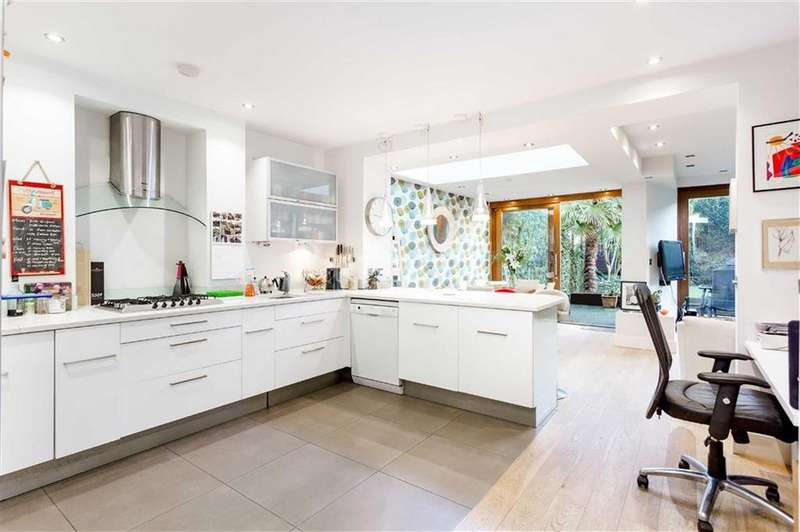 3 Bedrooms Flat for sale in Parkhill Road, Belsize Park, London
