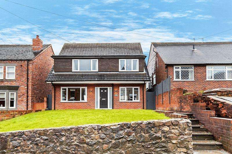4 Bedrooms Detached House for sale in Church Lane, Mow Cop