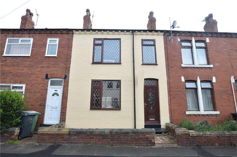 2 Bedrooms Terraced House for sale in Glencoe Terrace, Kippax, Leeds, West Yorkshire
