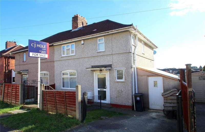 3 Bedrooms Semi Detached House for sale in Springleaze, Knowle Park, Bristol, BS4