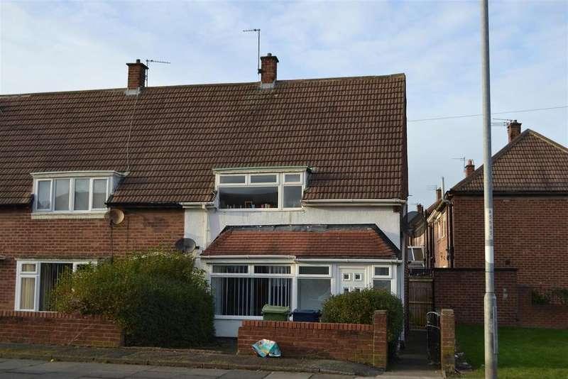 3 Bedrooms Semi Detached House for sale in Caithness Road, Hylton Castle, Sunderland