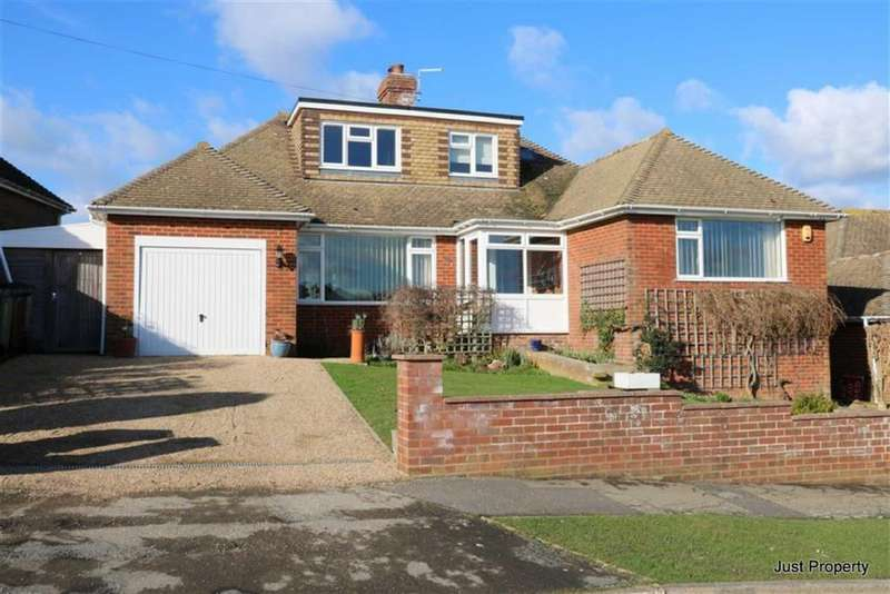 3 Bedrooms Detached Bungalow for sale in Meadow Way, Fairlight