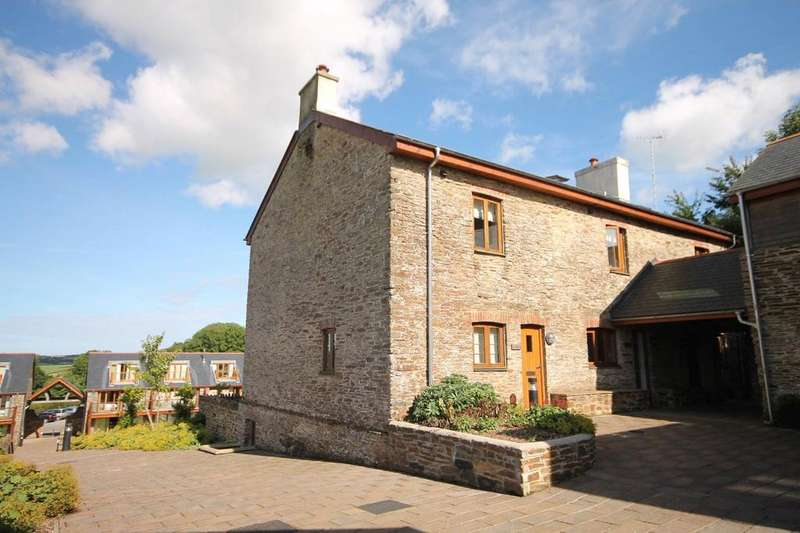 4 Bedrooms End Of Terrace House for sale in Dartmouth Green, Blackawton, Totnes, TQ9