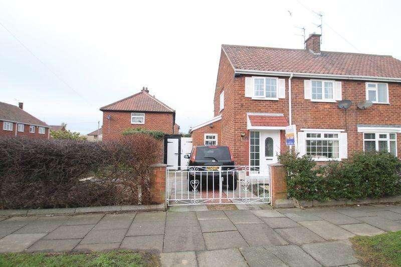 2 Bedrooms Semi Detached House for sale in Melrose Avenue, Billingham