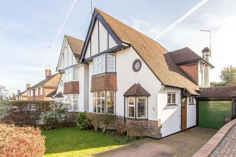 3 Bedrooms Detached House for sale in Dulverton Road, Selsdon, South Croydon, Surrey, CR2 8PG