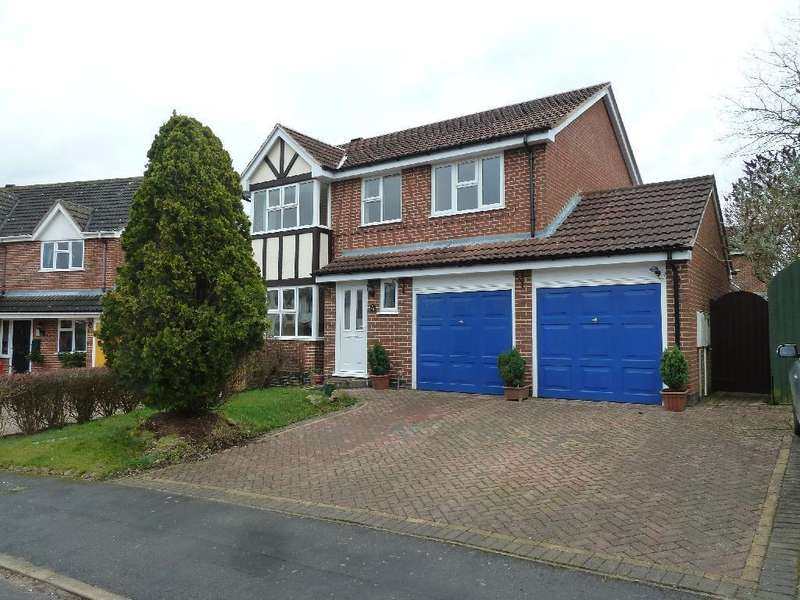 4 Bedrooms Detached House for sale in Lambert Close Melton Mowbray