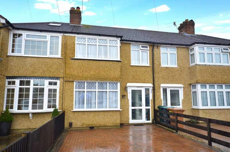 3 Bedrooms Terraced House for sale in Barton Way, Croxley Green, Hertfordshire, WD3
