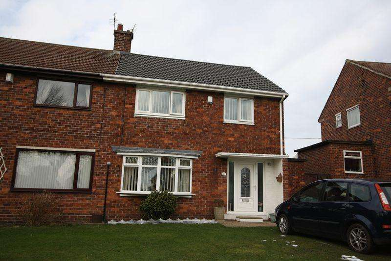 3 Bedrooms Semi Detached House for sale in Much Improved Three Bedroom Semi Detached on Robson Avenue in Peterlee