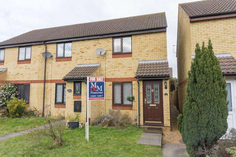 2 Bedrooms End Of Terrace House for sale in Flitwick