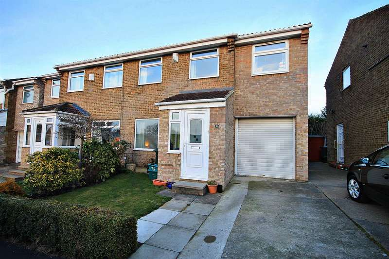 3 Bedrooms Semi Detached House for sale in Scardale Way, Belmont, Durham
