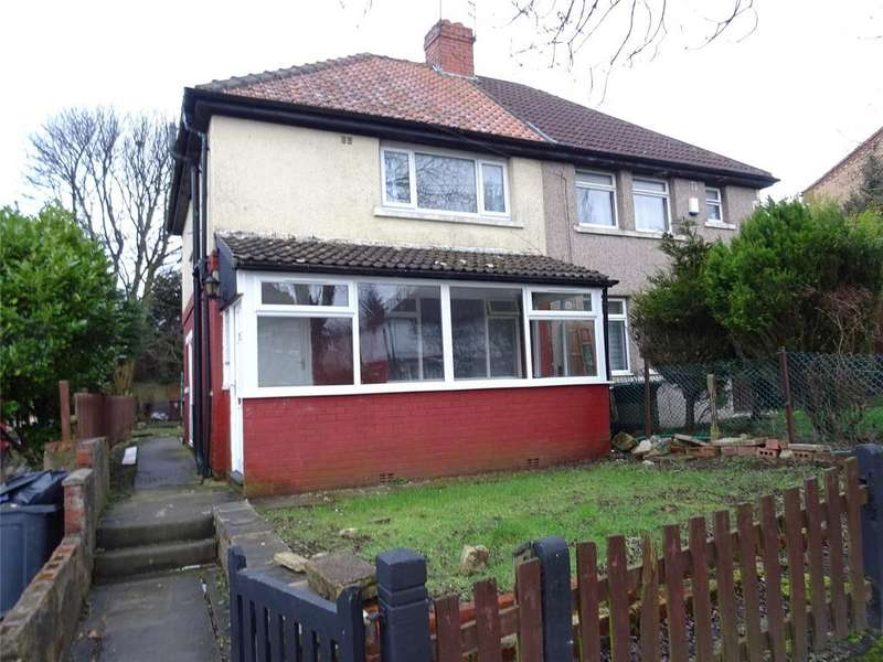 3 Bedrooms Semi Detached House for sale in Sowden Road, Bradford, West Yorkshire, BD9