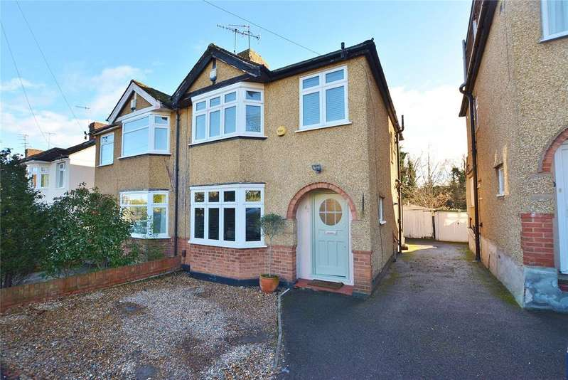 3 Bedrooms Semi Detached House for sale in Melbourne Road, Bushey, Hertfordshire, WD23