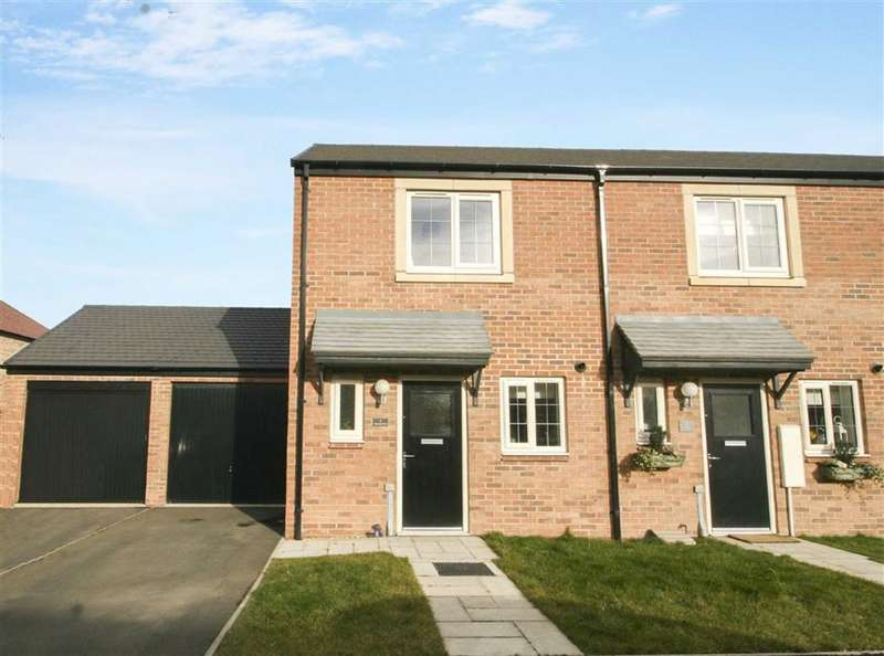 2 Bedrooms Semi Detached House for sale in Trevelyan Close, Earsdon View