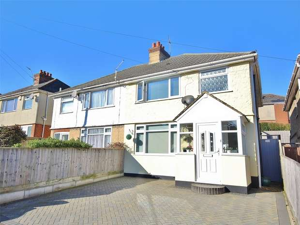 3 Bedrooms Semi Detached House for sale in Library Road, Parkstone, POOLE, Dorset